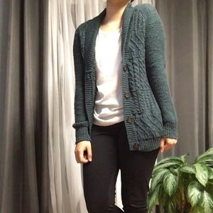 COINCIDENCE&CHANCE• Mixed Stitch Classic Cardigan